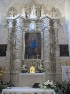Altare Maggiore della Chiesa dell'Immacolata Manduria