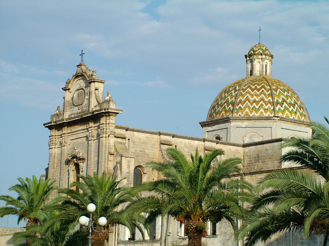 Risultati immagini per chiesa di Santa maria di costantinopoli manduria